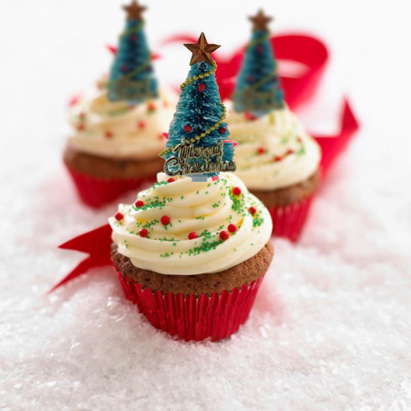 Best Christmas tree cake topper