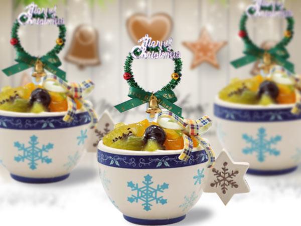 Mini wreath Topper for Cupcake